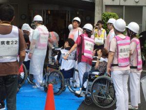 墨田区災害対応訓練